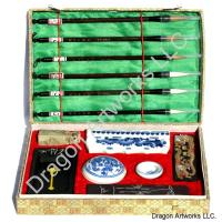 Large Chinese Calligraphy Set